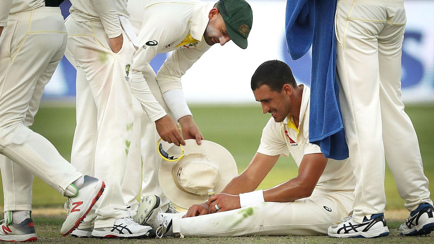 Cricket: Mitchell Starc takes pickle juice to stop cramps