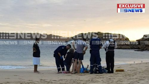 Congwong Beach and the adjacent Frenchmens and Yarra beaches are expected to be closed over the next day as a precaution. (AAP)