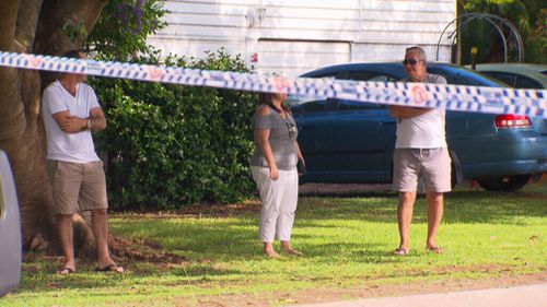 Residents were forced to leave their apartments. (9NEWS)
