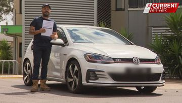 How a car loan has driven an Aussie truckie to the brink of homelessness