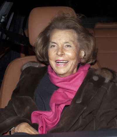 Liliane Bettencourt came in at No.10 on the overall list with $51.6 billion.