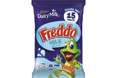Freddo Frog milk chocolate: More than 1.5 teaspoons of sugar