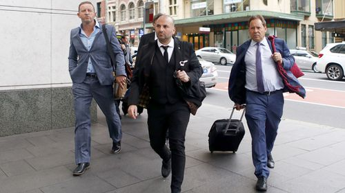 Masterchef Judge had an assault conviction overturned today and will instead serve a 12-month good behaviour bond (AAP).