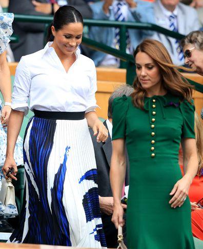 Meghan Markle & Kate Middleton Wimbledon 2019