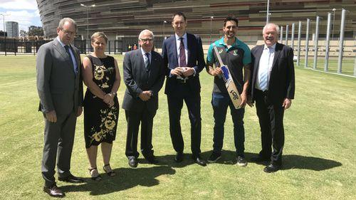 Cricket to christen new Perth stadium