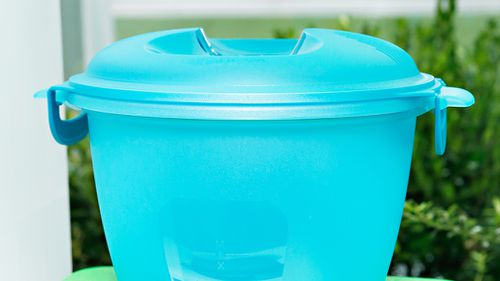"""Coles on the other hand has completely disregarded the idea, owing to the """"health and safety risk"""" customer containers would pose. Picture: Getty"""