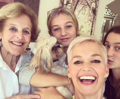 Jessica Rowe with family