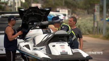 Victorian Police jet ski crackdown