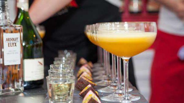 The Bon Vivant champagne cocktail