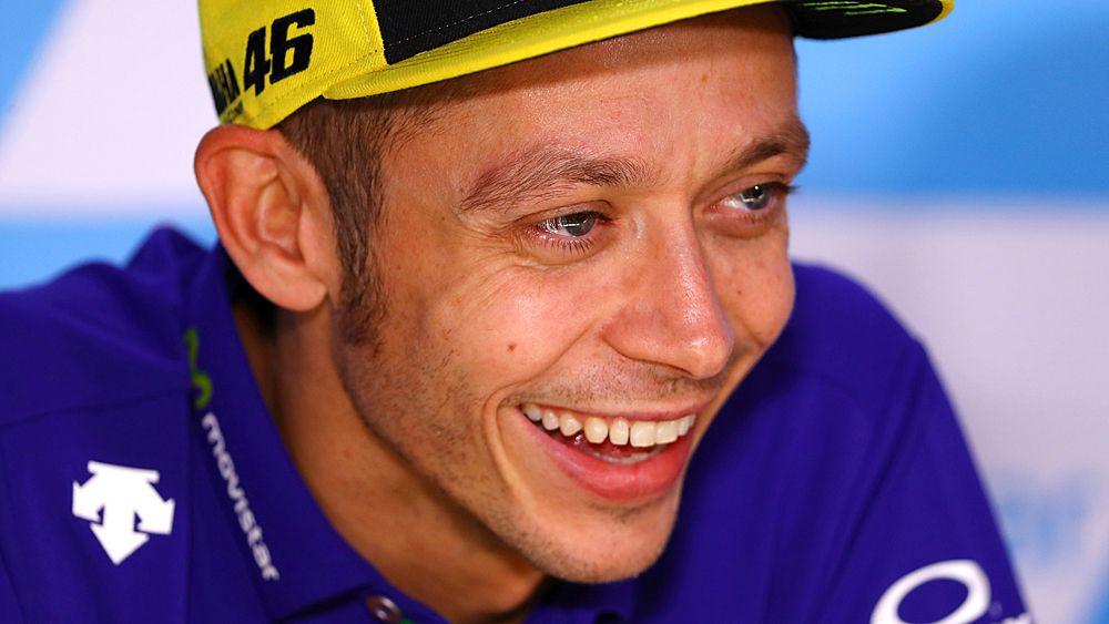 Rossi back for MotoGP race after leg break