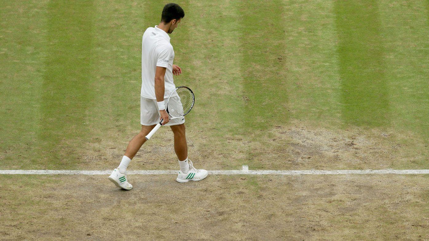Novak Djokovic slams holes in the court at Wimbledon: 'Not the best'