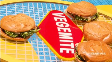 Vegemite flavoured hamburgers, sausages on the market
