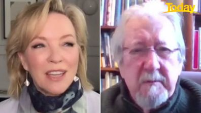 Rebecca Gibney and Michael Caton spoke about the new series on Today.