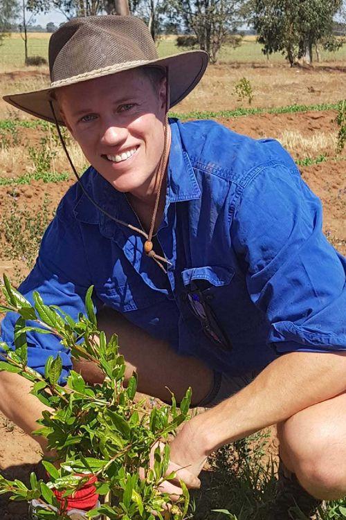 Fifth generation farmer Stephen Brooks.