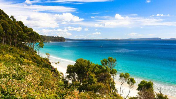 Bruny Island beach