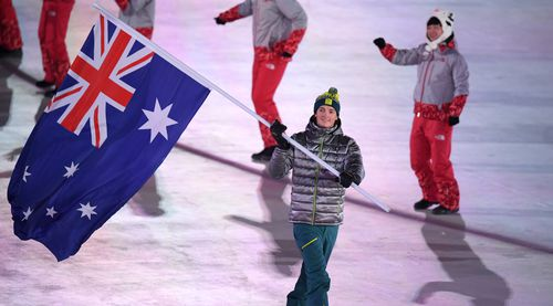 Scotty James leads Australia. (AAP)