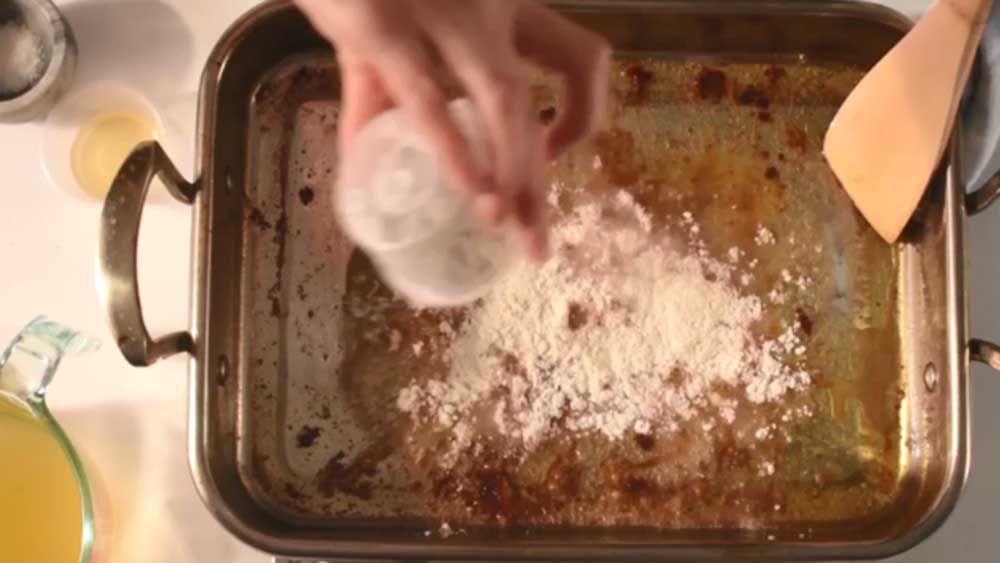 How to make easy pan gravy