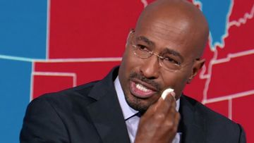 Van Jones breaks down on air as he reveals what Joe Biden's election win means to himself and many others.