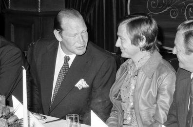 Kerry Packer and John Cornell.