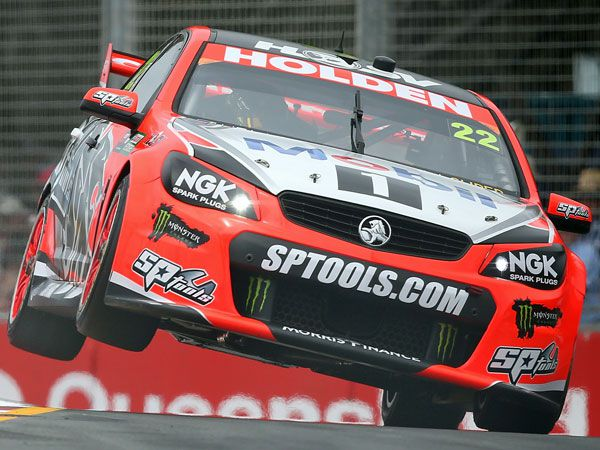 Holden driver James Courtney. (Getty)