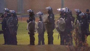 Inmate riot