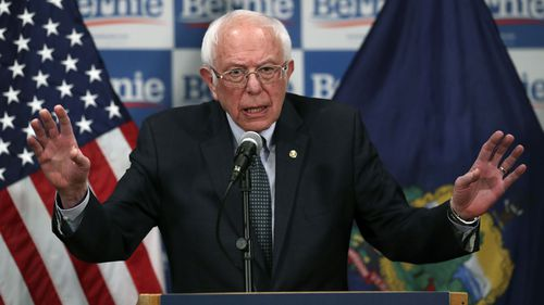 Bernie Sanders said coronavirus would require a wartime-level response.