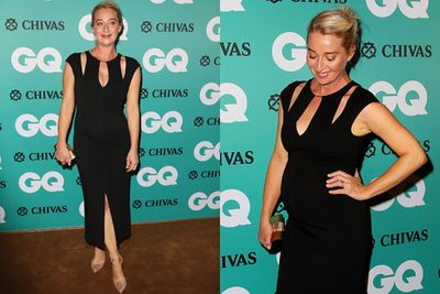 "Asher Keddie pulls off a great red carpet look while working on her own <i>Offspring</i> ""side project""."