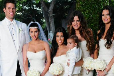 Case in point: Kim Kardashian's wedding to Kris Humphries on <i>Keeping Up With The Kardashians</i>.<br/><br/>Reports claimed the couple made $18 million from their 2011 nuptials, but 'momager' Kris Jenner later said 'she didn't make a dime and, actually, spent millions of dollars on the wedding'.<br/> <br/>Seventy-two days later, it was all over, Red Rover.<br/><br/>Image: Scope
