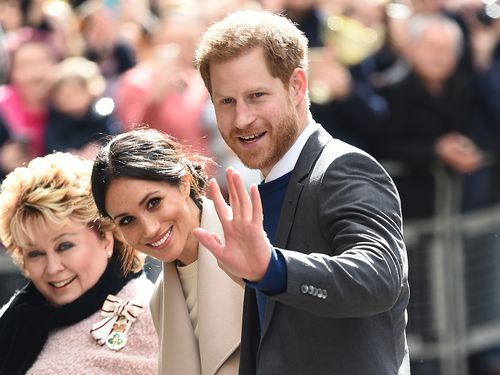 Meghan Markle and Prince Harry are asking for people to donate to several charities in lieu of gifts. (AP/AAP)