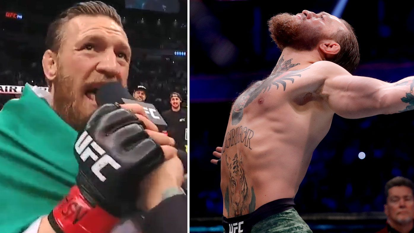 'Any one of these mouthy fools can get it': Conor McGregor calls out next rivals after UFC 246 hysteria