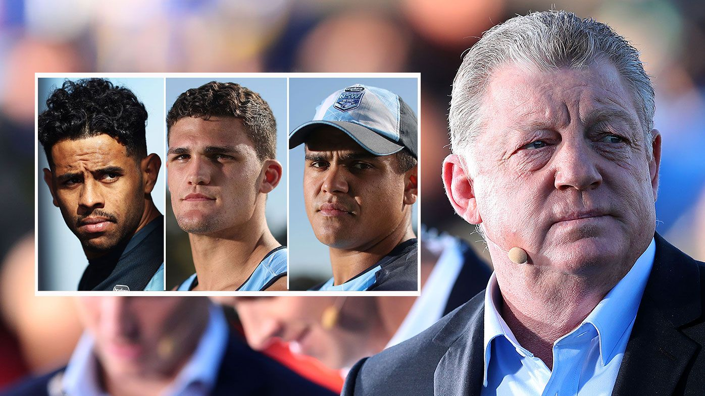 'Stop behaving like selfish, immature boofheads': Phil Gould's plea to NRL stars Nathan Cleary, Josh Addo-Carr and Latrell Mitchell