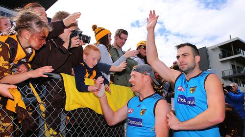 Hawthorn was prepared to axe training if a large number of blades were found. (Getty)