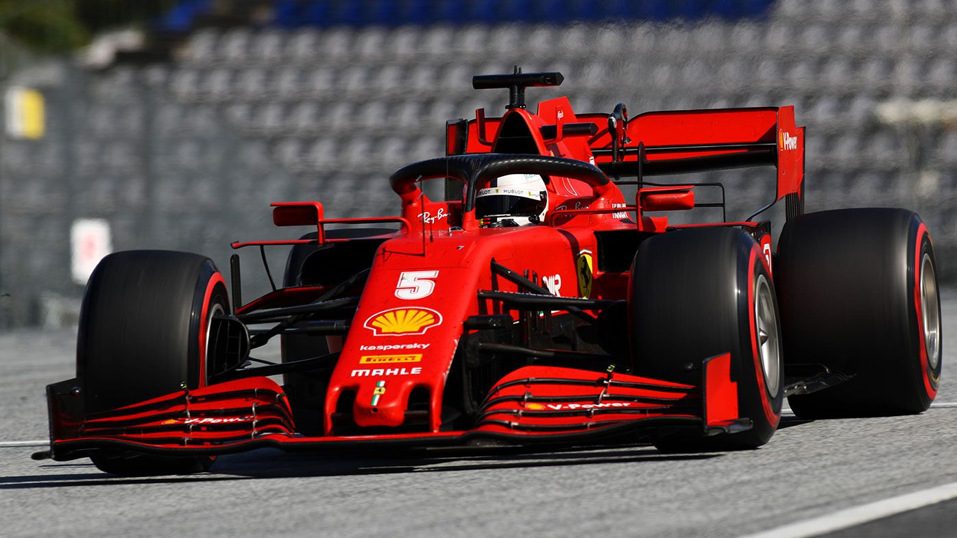 Sebastian Vettel finished 10th at the Austrian Grand Prix.