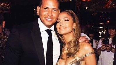 Jennifer Lopez and Alex Rodriguez.