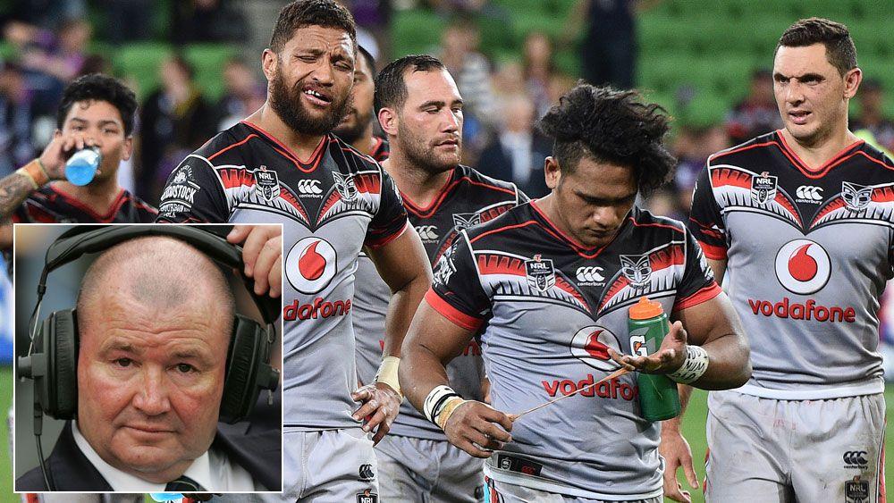 Lowe slams Warriors' attitude again