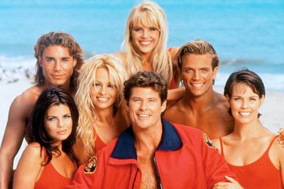 <B>The beach:</B> Santa Monica; Avalon; Hawaii.<br/><br/>The ultimate beach show,<i> Baywatch</i> famously featured big-breasted <i>Playboy</i> models-turned-actors running in slow motion. They also saved people's lives sometimes. When the show tried to relocated to Sydney's Avalon Beach, pitchfork-wielding locals sent the cast and crew (and their boobs) packing, forcing a move to Hawaii.