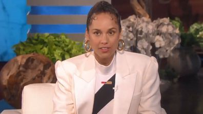 Alicia Keys on The Ellen DeGeneres Show