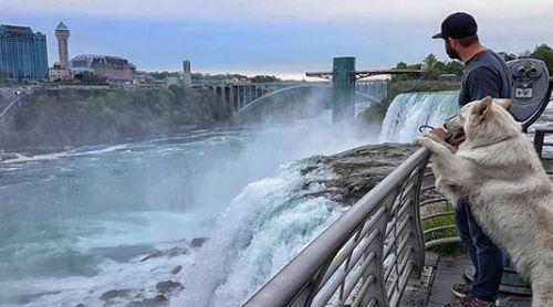 Niagara Falls is an attraction Mya enjoyed too.