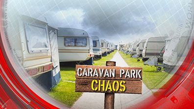 Caravan park chaos
