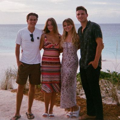 Reese Witherspoon's daughter Ava Phillippe and son Deacon Phillippe shares rare photo with their partners.
