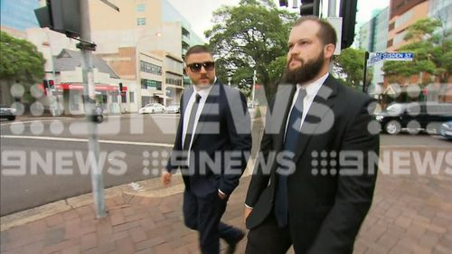 Daniel Hadley (left) has had a cocaine charged against him dismissed on mental illness grounds.