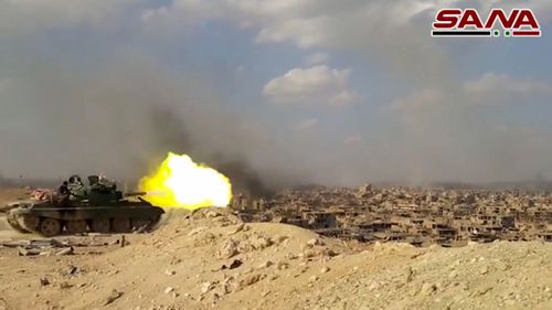 The Syrian army drove Islamic State militants from Deir el-Zour. (AAP)