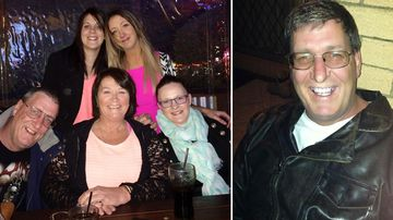 Missing Queensland father Terry Lloyd and his family