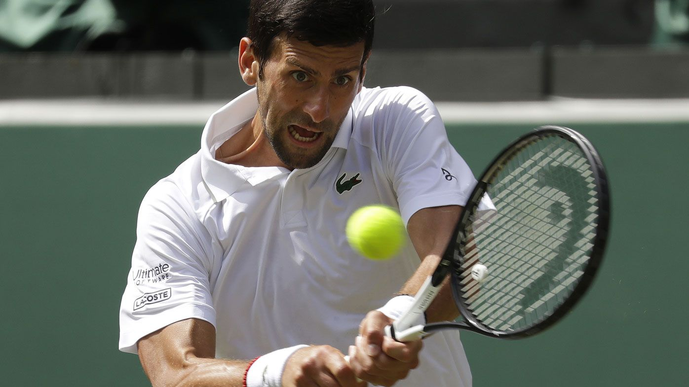 Novak Djokovic swims, next gen sink at Wimbledon as Zverev, Tsitsipas lose