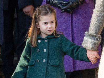 Lady Kitty Spencer Princess Charlotte resemblance