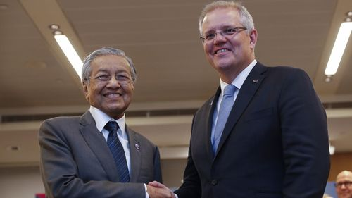 Malaysian PM Mahathir Mohamad has warned that moving Australia's embassy in Israel to Jerusalem would aid terrorism.