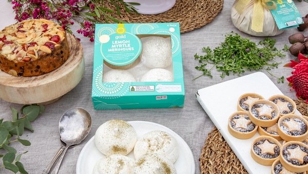 Woolworths Christmas desserts with native ingredients