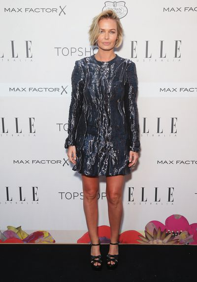 Lara Worthington at the ELLE Style Awards in Sydney, October, 2015