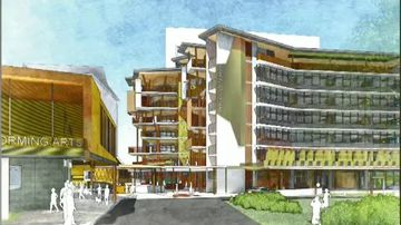 Plans for 'vertical' high-rise high school revealed