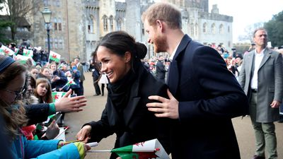 Harry and Meghan visit Cardiff Castle, 18 January 2018